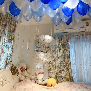 ลูกโป่ง Birthday จัดห้อง