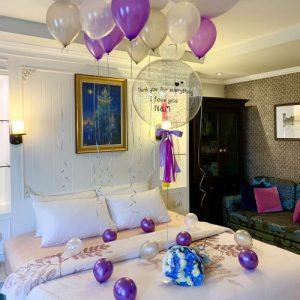 เซทลูกโป่งวันเกิด จัดห้องในโรงแรม